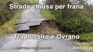 Franata la strada da Lussito ad Ovrano (VIDEO)