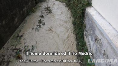 Acqui Terme - Il fiume Bormida ed il rio Medrio