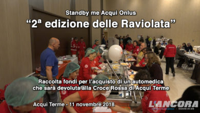 Acqui Terme - 2ª Raviolata per la Croce Rossa