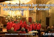 """""""La Grande Guerra per immagini"""" del cappellano Don Farinetti (VIDEO)"""