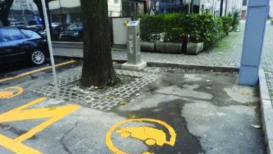 colonnine elettriche per la ricarica auto