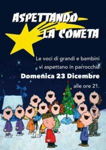 locandina concerto Natale a Cassinelle