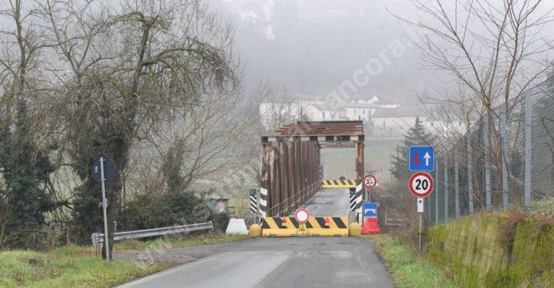 ponte di Melazzo chiuso