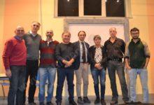 I moschettieri della Valle Uzzone: Stefano Dogliotti, Flavio Dotta e Riccardo Molinari