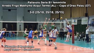 Photo of Volley Serie B1: Arredo Frigo Makhymo  – Capo d'Orso Palau  3-0 (VIDEO)