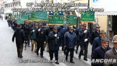 """90° Anniversario Fondazione Gruppo Alpini """"Luigi Martino""""Acqui Terme"""