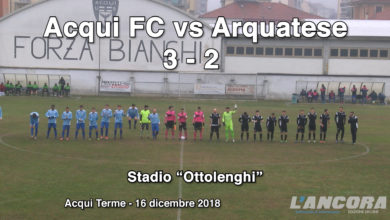 Calcio - Acqui FC vs Arquatese 3 - 2