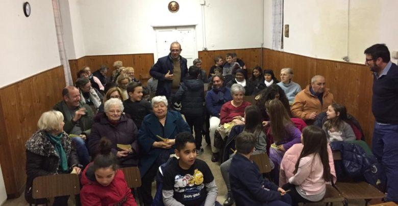 Lancio dello stoccafisso organizzato dall'Oratorio di Molare