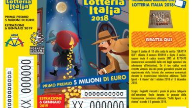 Photo of Lotteria Italia: 25.000 euro a un biglietto venduto a Belforte