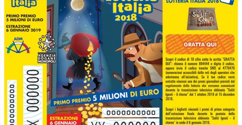 Lotteria Italia: 25.000 euro a un biglietto venduto a Belforte