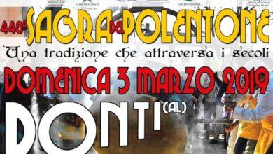 Ponti: il Polentone sarà il 3 marzo