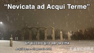 Nevicata ad Acqui Terme del 23 gennaio 2019