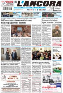 prima pagina L'Ancora n.8/2019