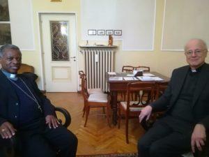 Vescovo Harolimana con Vescovo Testore