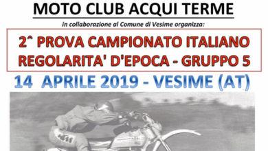 Moto: a Vesime la seconda prova del Campionato Italiano regolarità d'epoca