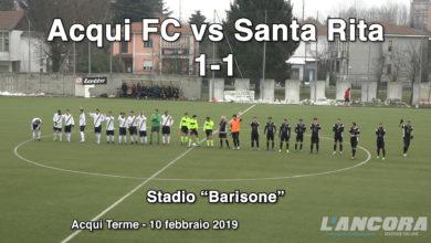 Calcio - Acqui FC vs Santa Rita 1 - 1 (10 febbraio 2019)