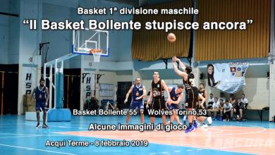 """Basket 1ª divisione maschile - """"Il Basket Bollente stupisce ancora"""" (VIDEO)"""