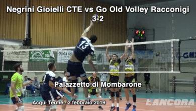Volley - Negrini Gioielli CTE vs Go Old Volley Racconigi 3-2