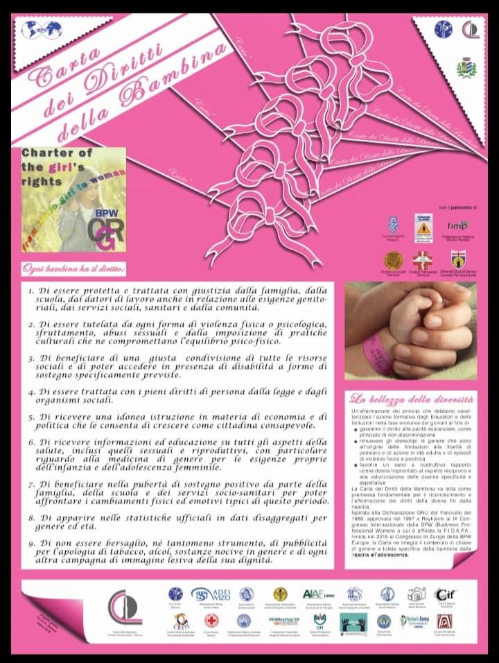 Rossiglione: Comune sottoscrive Carta dei diritti della bambina