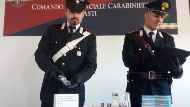 Carabinieri, doping