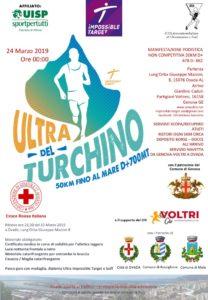 locandina ultramaratona del Turchino