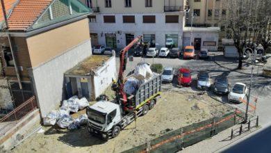 area ex distributore di via Mariscotti