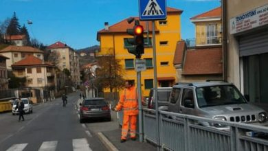 Rossiglione: ripristinato semaforo di via Roma