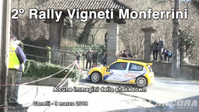 Canelli - 2º Rally Vigneti Monferrini (VIDEO)