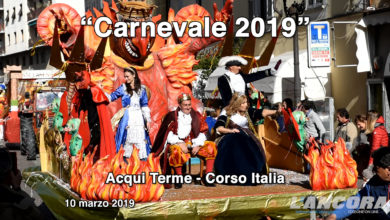 Acqui Terme - La sfilata di carnevale 2019 (VIDEO)