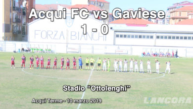 Acqui Fc vs Gaviese