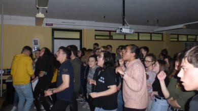 scuola, istituto Montalcini, discoteca