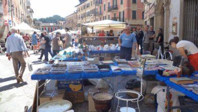 Ovada-mercatino piazza Garibaldi