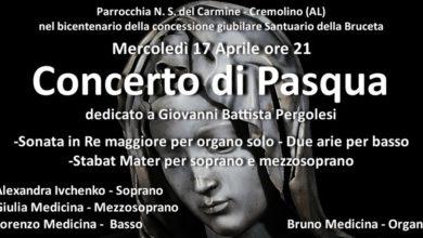 """Cremolino: """"Concerto di Pasqua"""" dedicato a Giovanni Battista Pergolesi"""
