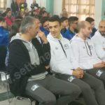 Pallapugno: A.Manzo inaugura spogliatoi e presenta le squadre