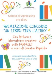 locandina Rossiglione biblioteca