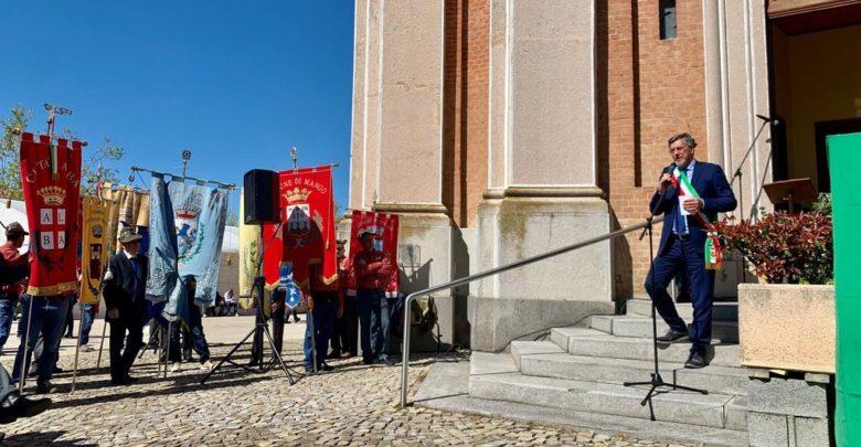 Il raduno degli Alpini in Langa Castiglione Tinella il 28 aprile