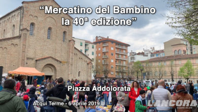 Acqui Terme - Mercatino del Bambino, la 40ª edizione (VIDEO)