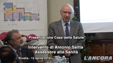 Rivalta Bormida - Intervento dell'assessore alla sanità Antonio Saitta (VIDEO)