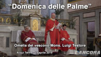 Domenica delle Palme - Omelia del vescovo mons. Luigi Testore
