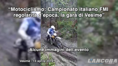 Photo of Motociclismo: Campionato italiano FMI regolarità d'epoca, la gara di Vesime (VIDEO)