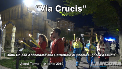 Diocesi di Acqui - La Via Crucis ad Acqui Terme