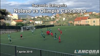 Calcio seconda categoria - Nolese vs Olimpia Carcarese (VIDEO)