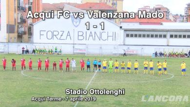 Acqui FC vs Valenzana Mado