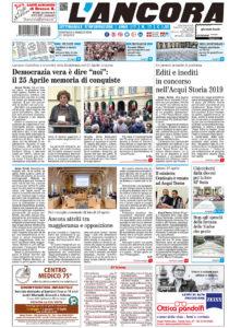 Prima pagina del N°17 del 5 maggio 2019