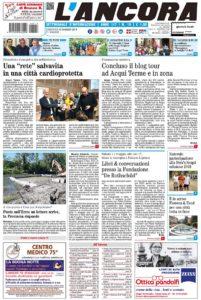 Prima pagina del N°18 del 12 maggio 2019
