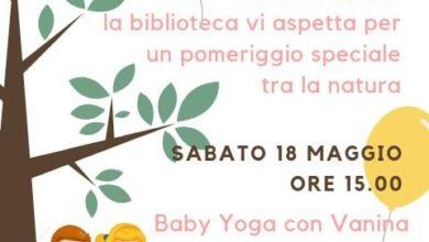 """""""Letture nel verde"""" alla biblioteca di Rossiglione"""