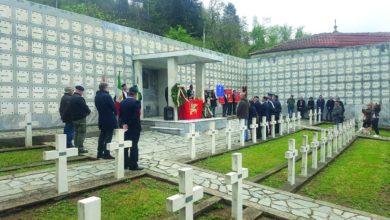 Photo of Fratelli d'Italia acquese al cimitero delle Croci Bianche di Altare