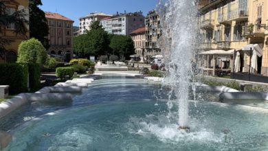 Photo of Riparata la fontana delle ninfee