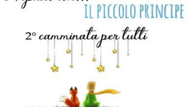 """locandina camminata """"A spasso con il piccolo principe"""""""