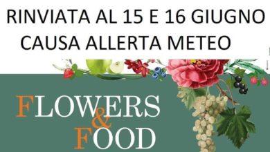 """Photo of """"Flowers & Food"""": manifestazione rinviata al 15 e 16 giugno"""